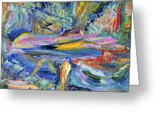 Paint Number 31 Greeting Card by James W Johnson