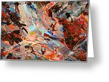 Paint Number 36 Greeting Card by James W Johnson