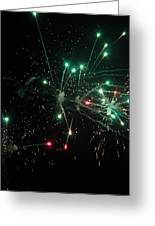 Paint The Night Greeting Card by Ashley Beeman