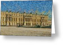 Palace Of Versailles Greeting Card by Aaron Stokes