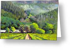 Palisades Drive Greeting Card by Char Wood