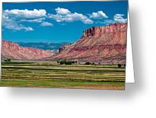 Paradox Valley One Greeting Card by Josh Whalen