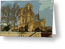 Paris 03 Greeting Card by Yuriy  Shevchuk