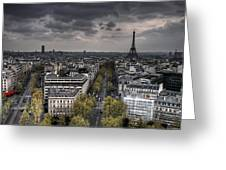 Paris No. 1 Greeting Card by Ryan Wyckoff