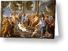 Parnassus, Apollo And The Muses, 1635 Greeting Card by Photo Researchers