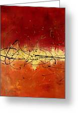 Passion Greeting Card by Darlene Keeffe