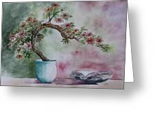 Peace of Mind Greeting Card by Patsy Sharpe