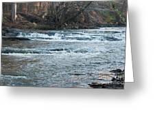 Peaceful River Greeting Card by Michael Waters