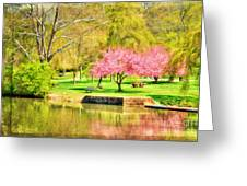 Peaceful Spring II Greeting Card by Darren Fisher