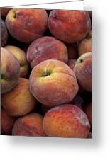 Peaches 2 Greeting Card by Robert Ullmann
