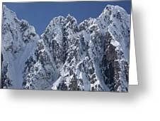 Peaks Of Takhinsha Mountains Greeting Card by Matthias Breiter