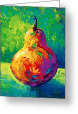 Pear II Greeting Card by Marion Rose