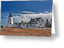 Pemaquid Point Lighthouse 4800 Greeting Card by Guy Whiteley