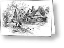 Pennsylvania: House, 1876 Greeting Card by Granger