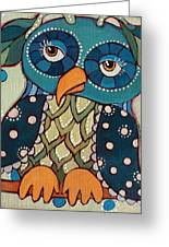 Perched Greeting Card by Suzanne Drolet