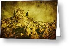 Persian Empire Greeting Card by Andrew Paranavitana
