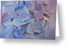Petals Greeting Card by Patsy Sharpe