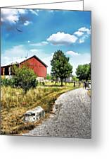 Peter Stuckey Farm Greeting Card by Tom Schmidt
