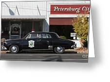 Petersburg Indiana Greeting Card by Jack  R Brock