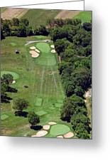 Philadelphia Cricket Club Wissahickon Golf Course 15th Hole Greeting Card by Duncan Pearson