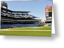 Phillies Stadium Greeting Card by Brynn Ditsche