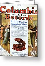 Phonograph Ad, 1914 Greeting Card by Granger