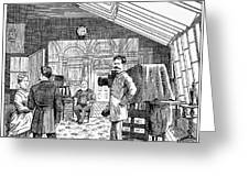 Photography Studio, 1876 Greeting Card by Granger
