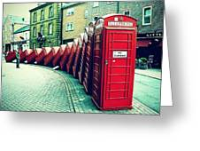 #photooftheday #london #british Greeting Card by Ozan Goren