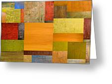 Pieces Project Ll Greeting Card by Michelle Calkins