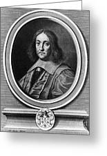 Pierre De Fermat, French Mathematician Greeting Card by Photo Researchers, Inc.