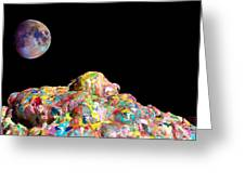 Pile Of Color In Space Two K O Four Greeting Card by Carl Deaville