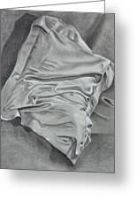 Pillow Talk Greeting Card by Patsy Sharpe