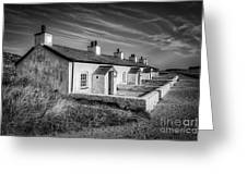 Pilot Cottages Greeting Card by Adrian Evans
