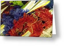 Pinata Pile Greeting Card by Anna Villarreal Garbis