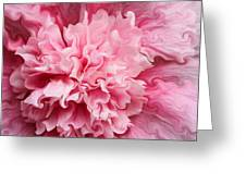 Pink Greeting Card by Kristin Elmquist