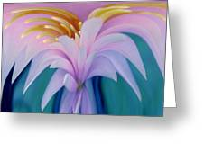 Pink Water Lily Greeting Card by Pat Exum