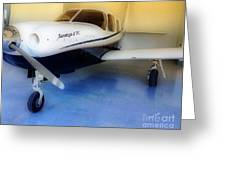 Piper Saratoga Greeting Card by Cheryl Young