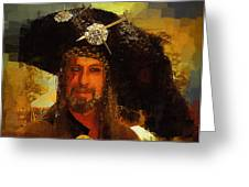 Pirate Greeting Card by Clarence Alford