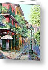 Pirates Alley Greeting Card by Dianne Parks