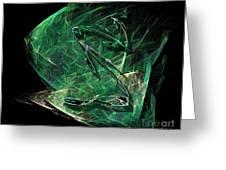 Pisces Greeting Card by Viktor Savchenko