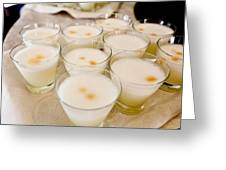 Pisco Sours Are Served By Peru Rail Greeting Card by Michael &Amp Jennifer Lewis