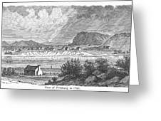 Pittsburgh, 1790 Greeting Card by Granger