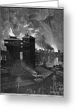 Pittsburgh: Blast Furnaces Greeting Card by Granger