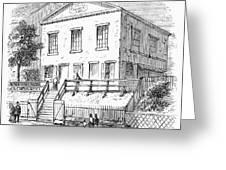 PITTSBURGH: CHURCH Greeting Card by Granger