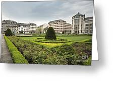 Place Des Martyrs, Luxembourg City, Luxembourg, Europe Greeting Card by Jon Boyes