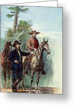 Plantation: Overseer, 1867 Greeting Card by Granger
