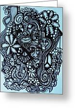 Play Time Greeting Card by Gerri Rowan