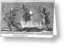 Polycarp Of Smyrna Greeting Card by Granger