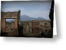 Pompei Greeting Card by Kevin Flynn