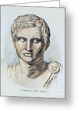 Pompey (106-48 B.c.) Greeting Card by Granger